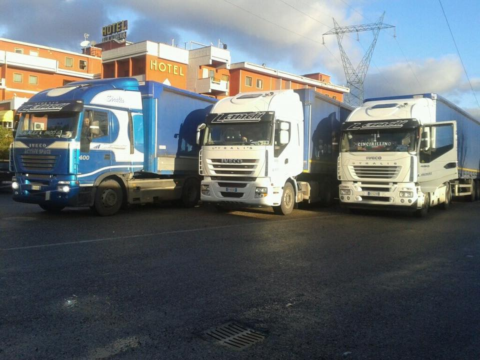 camion in mostra